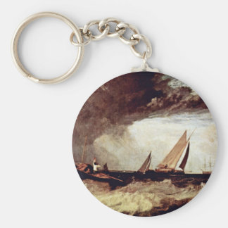 A Fisherman From Shoeburyness Preit A Flatboat Fro Keychain