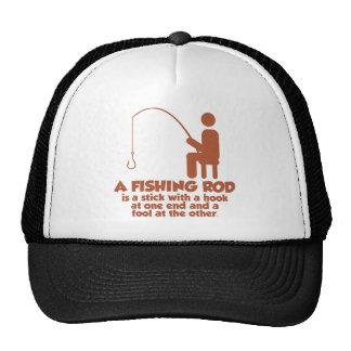A Fishing Rod Trucker Hat