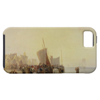 A Fishmarket Near Boulogne, c.1824 (oil on canvas) iPhone SE/5/5s Case