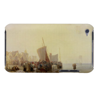 A Fishmarket Near Boulogne, c.1824 (oil on canvas) iPod Touch Cover
