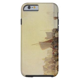 A Fishmarket Near Boulogne, c.1824 (oil on canvas) Tough iPhone 6 Case