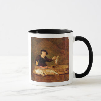 A Fishmonger, c.1667 (oil on panel) Mug