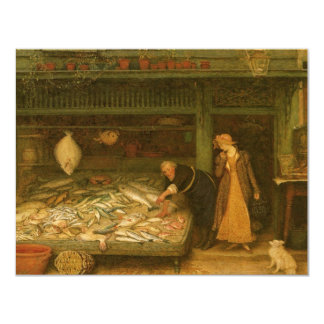 A Fishmonger's Shop by Frederick Walker Card
