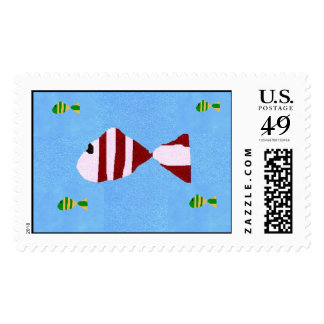 A fishy delivery stamps