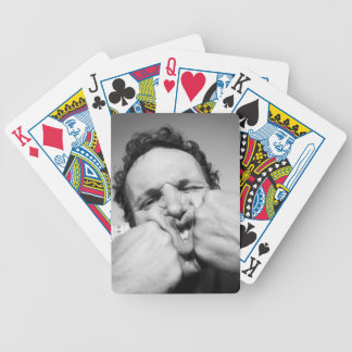 A fist, Mister? Not! two, please. Bicycle Playing Cards