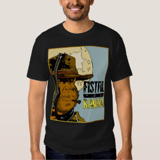 A Fistful Of Bananas - Monkey Clint (black nero) Tee Shirts
