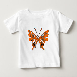 A Flame Tattoo Butterfly Baby T-Shirt