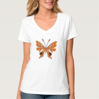 A Flame Tattoo Butterfly T-Shirt
