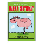 A FlaminCow Greeting Card