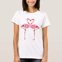 A Flamingo Is In Love T-Shirt