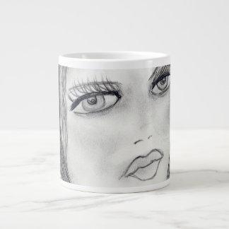 A Flapper Large Coffee Mug