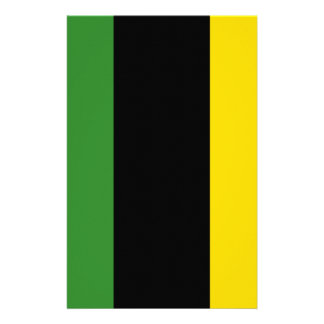 A Flash Dash of Jamaican Colours Stationery