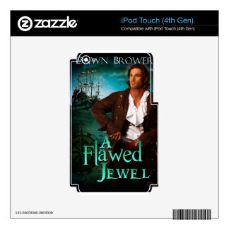 A Flawed Jewel Cover Decal For iPod Touch 4G