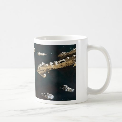 A Fleet Action Classic White Coffee Mug