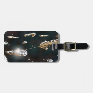 A Fleet Action Luggage Tags