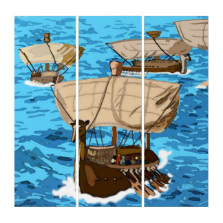 A Fleet Of Ships Of Tarshish Triptych
