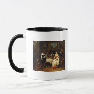 A Flemish Family at Dinner Mug