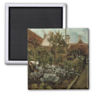 A Flemish Garden Magnet