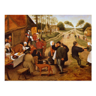 A Flemish Kermesse Postcard