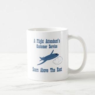 A Flight Attendant's Customer Service Soars Coffee Mug