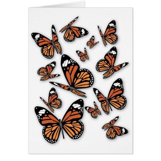 A Flight of Butterflies Card
