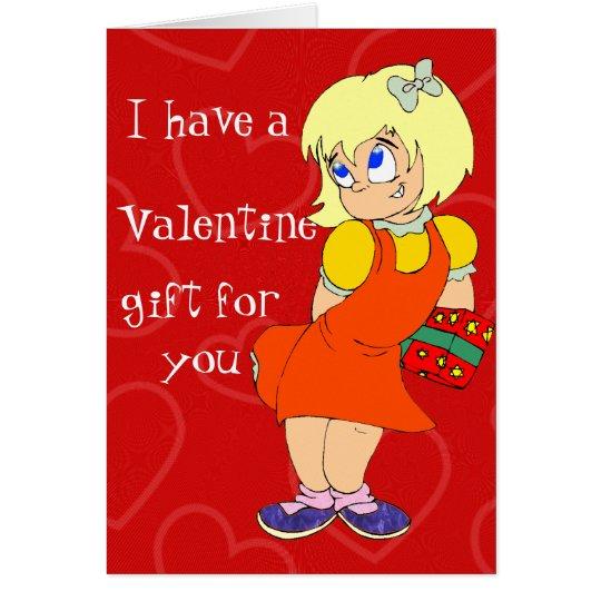 A Flirty Valentine Card