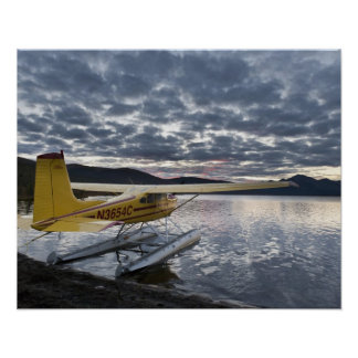 A floatplane in scenic Takahula Lake 2 Poster