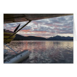 A floatplane in scenic Takahula Lake Cards