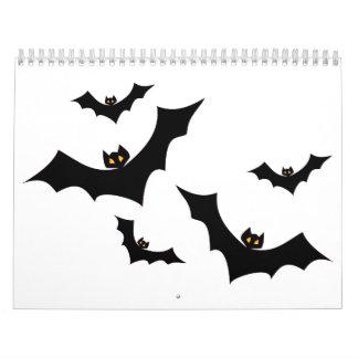 A flock of bats calendar
