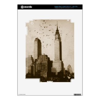 A flock of birds flying iPad 3 skin