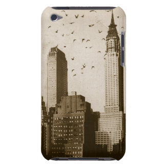 A flock of birds flying iPod touch cover