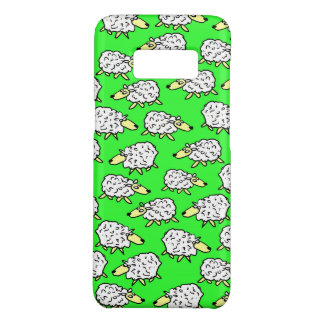 A Flock of Sheep in a Field Case-Mate Samsung Galaxy S8 Case