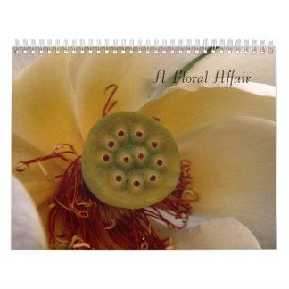 A Floral Affair Calendar