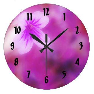A Floral Dream Clocks