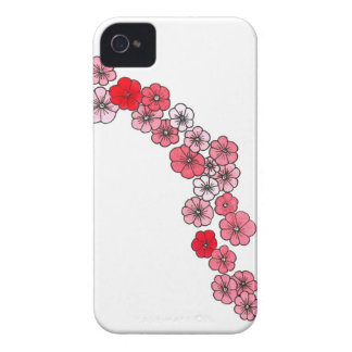 A floral garland in fifty or saves shades Case-Mate iPhone 4 case