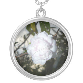 A Floral Star at Dusk Personalized Necklace