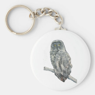 """A Florida Owl"" Keychain"