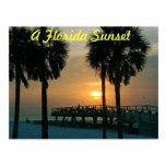 A Florida Sunset Post Cards