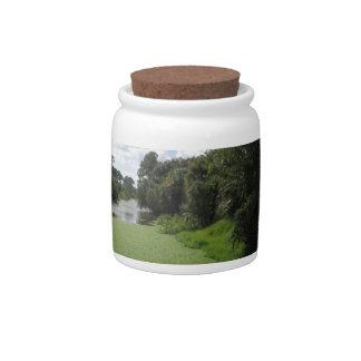 A Florida Waterway Candy Jar