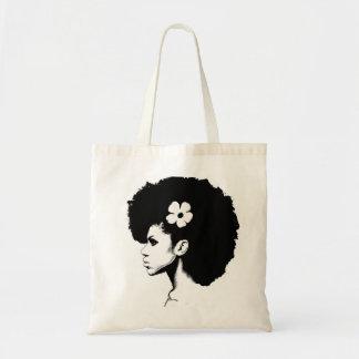 A Flower Budget Tote Bag
