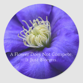 A Flower Does Not Compete Envelope Seals /
