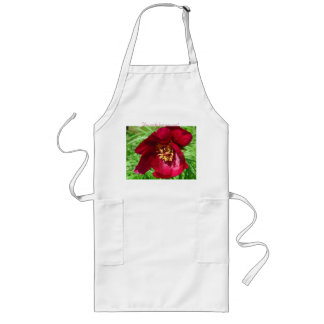 A Flower for My Best Mom Apron