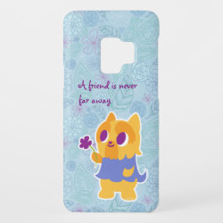 Case-Mate Barely There for Samsung Galaxy S9 Case with Yorkshire Terrier Phone Cases design