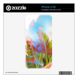A Flower from Heaven - New Mixed Art Skin For The iPhone 4S