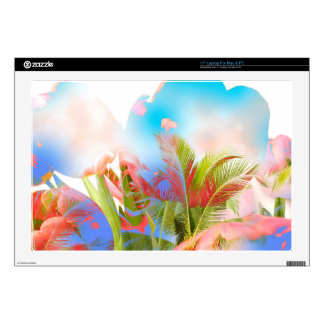 """A Flower from Heaven - New Mixed Art Skins For 17"""" Laptops"""