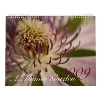A Flower Garden 2009 Calendar