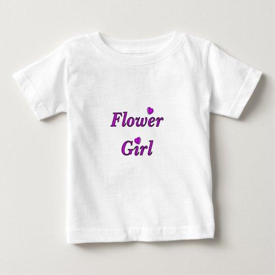 A Flower Girl Baby T-Shirt