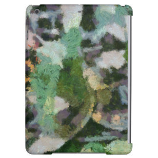 A flower in between leaves iPad air covers