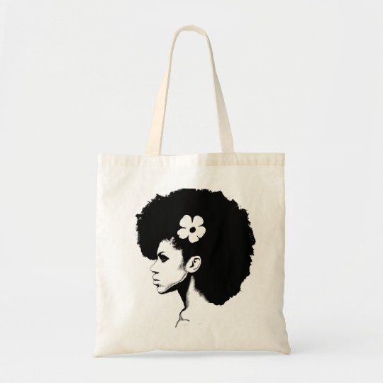A Flower Tote Bag