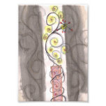 A Flowery Serpent Photographic Print